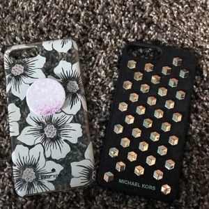 Kate spade and Michael Kors iPhone 7 Plus cases